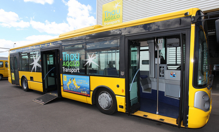 Bus interurbain Thau Agglo transport